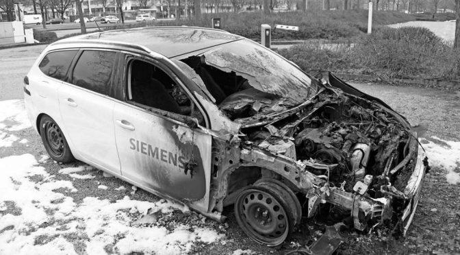 """""""Letzte Nacht ist wieder ein Auto abgebrannt …"""
