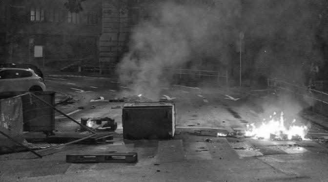 [Bern] Räumung des besetzten Fabrikool