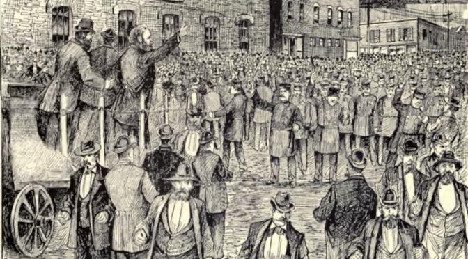 Louis Lingg: An das Gericht, 1886