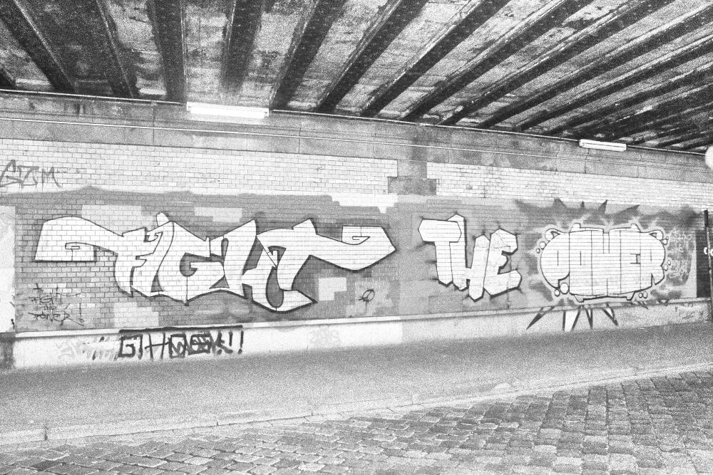 Graffito der Woche: Fight the Power