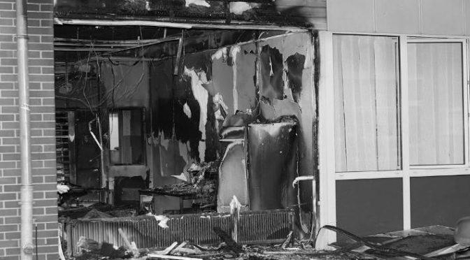 [Leipzig] Brandanschlag auf das Sächsische Landesamt für Steuern und Finanzen