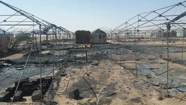 [Agadez, Niger] Flammende Revolte von sudanesischen Geflüchteten in einem UNO-Camp