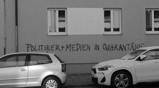 Politiker + Medien in Quarantäne